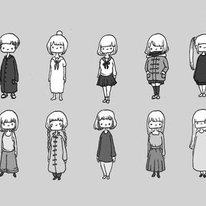 No.231『女の子。』