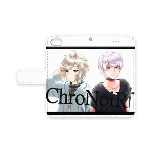 【非公式】『ChroNoiR』叶&葛葉 iPhoneケース