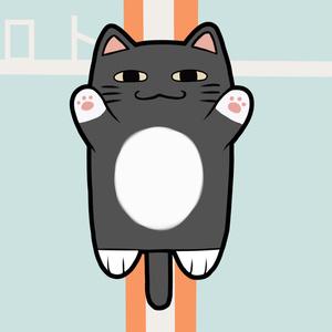 【非公式】ロトのアクリルキーホルダー(叶くんの抱えている猫のぬいぐるみ)