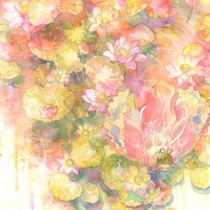 ポストカード 「胡蝶の夢」