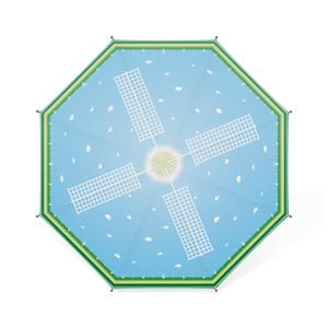 《卓上傘》ノスタルチック・風イメージ