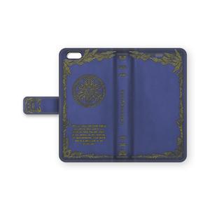 【手帳型iPhoneケース】氷の魔導書