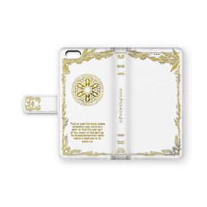 【手帳型iphoneケース】光の魔導書