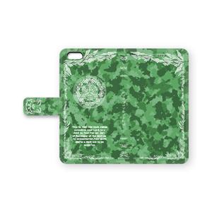 【手帳型iPhoneケース】アマゾンカラー