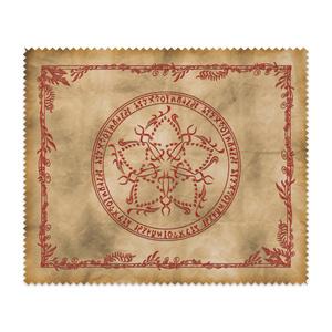 【メガネ拭き】魔術の護符「新星の紋」