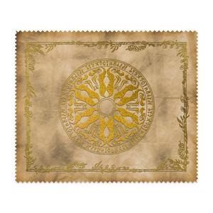 【メガネ拭き】魔術の護符「満月の紋」