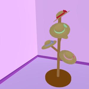 麦わら帽子(VRChat想定アクセサリ)ver.2.0