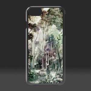 クリアiPhoneケース 「始まりの森」/ iPhone case Clear