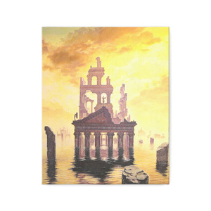 キャンバス「光に没する」/ Canvas print