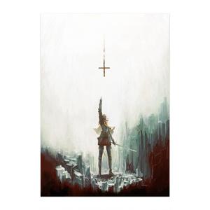 ポスター「岩窟の聖騎士」/ Poster