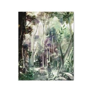 キャンバス「はじまりの森」/ Canvas print