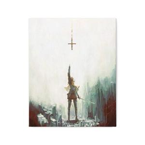キャンバス「岩窟の聖騎士」/ Canvas print