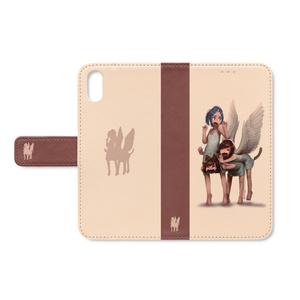 手帳型iPhoneケース「ペガサス」/ iPhone case Notebook type