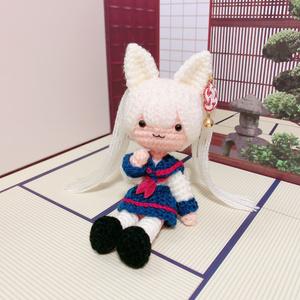 【6/24 21:00〜】白狐のしろこちゃん(セーラー服)