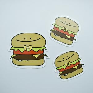 ハンバーガーのステッカーセット