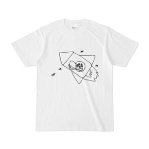 こわれ犬Tシャツ「とびおりるよー」