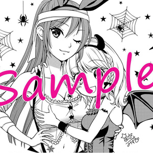 【カップル】ルイちゃん&カナちゃん風船 (ハロウィン2018vol.3)