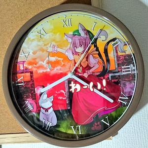 【C95】橙ちゃん時計【新作】