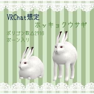 【無料・VRChat向け】ホッキョクウサギ