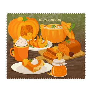 ねこまんまクリーニングクロス:かぼちゃのフルコース