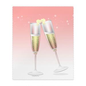 ねこまんまクリーニングクロス:シャンパン