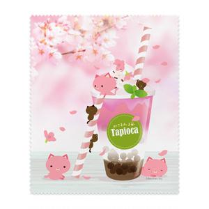 ねこまんまクリーニングクロス:桜タピオカ