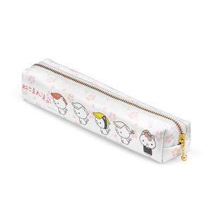 ねこまんまペンケース:寿司サクラ