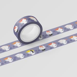 ねこまんまマスキングテープ:寿司