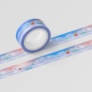 スノーボードくま:マスキングテープ