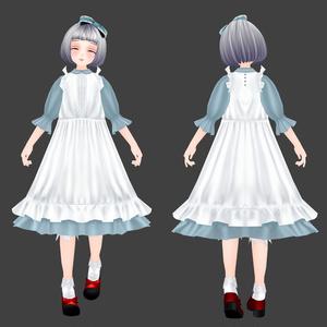 オリジナル3Dモデル『雛菊-HINAGIKU-』