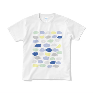 【短納期】筆跡よく見たらあざらしTシャツ
