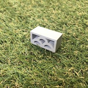 【ミニチュア】透かしブロック「みやま」4個