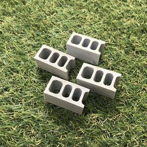 【ミニチュア】隅型ブロック 4個
