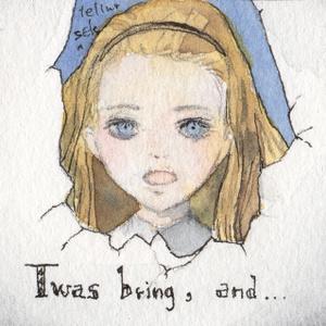 ミニ原画「小さな衒学家」