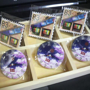 小十幸イメージ・時計風缶バッジ(38mm)