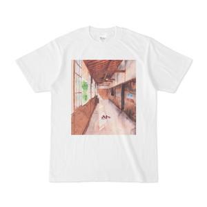 お昼寝猫Tシャツ(Sleeping Cat T-shirt)