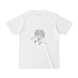 きりみんちゃんモノクロシャツ