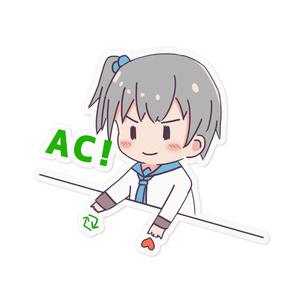 ACきりみんちゃんステッカー