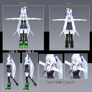オリジナル3Dモデル 「GOU NoSleeve Ver.」