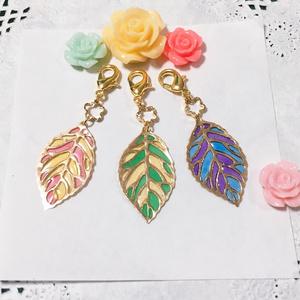 -彩葉-リーフ型もちマス飾り