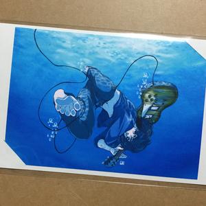 水中ROCKアートカード
