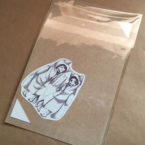 うさぎライダー白黒アートカード