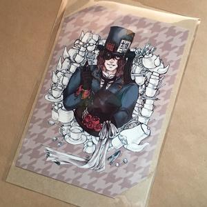 蒸気帽子屋のお茶会アートカード