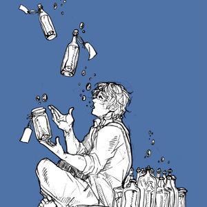カナタのボトルレターポーチ