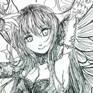 【4枚セット】ポストカード(妖精)