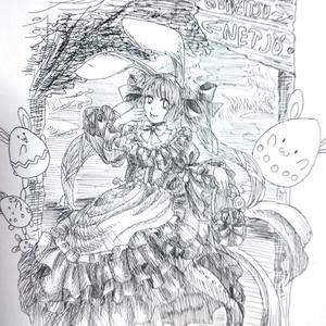 【原画一点物】ポストカード(リクエスト)