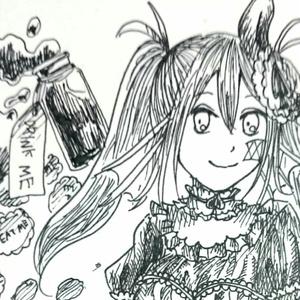 【4枚セット】ポストカード(マリー[不思議の国])