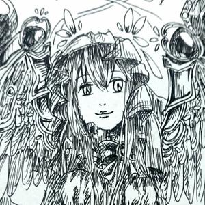 【4枚セット】ポストカード(2対の翼)