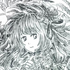 【4枚セット】ポストカード(裁縫乙女)