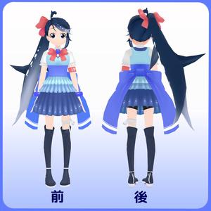 オリジナル3Dモデル『イワシちゃん』